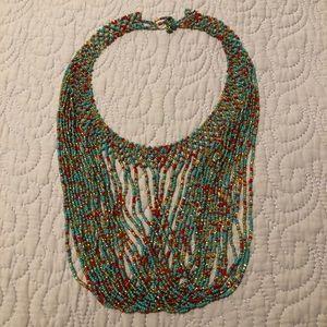 Handmade Guatemalan Beaded Necklace